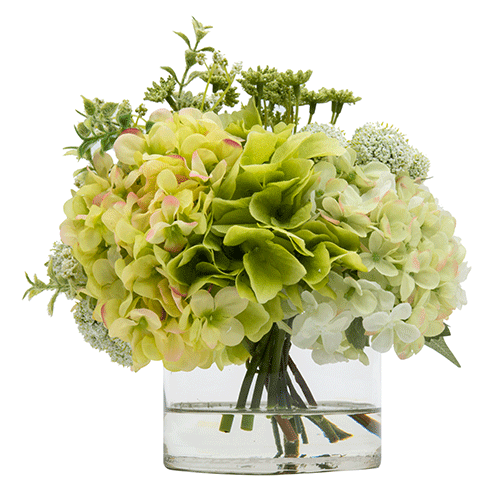 BOUQUET DE HORTENSIAS